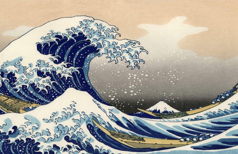 the-great-wave-of-kanagawa-art-plain-wall-murals