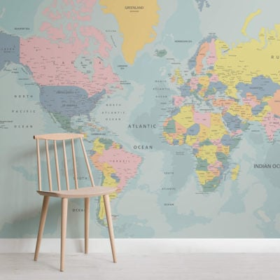 the-world-in-pastel-maps-square-1-wall-murals