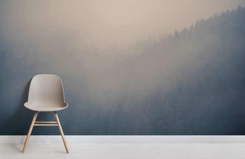 through-the-clouds-forest-room-wall-murals