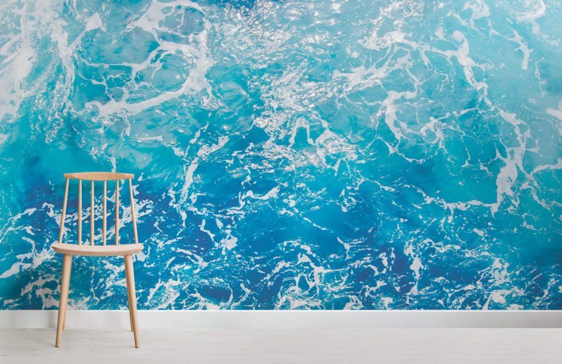 timor-photographic waves-room-wall mural-kj