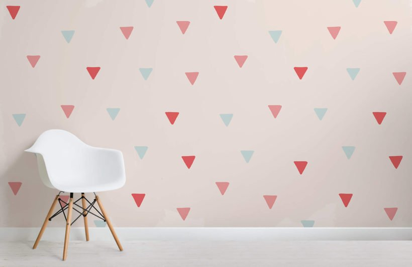 triangles-room-wall-mural