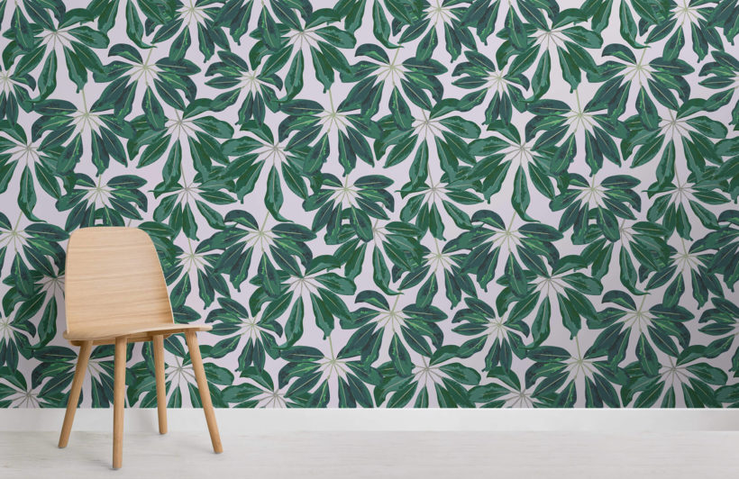 tropical-banana-leaf-collection-room-wall-murals