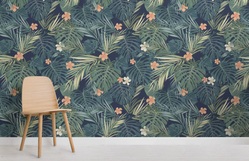tropical-bush-collection-room-wall-murals