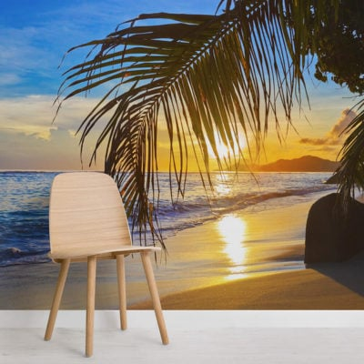 tropical-sunset-square-wall-murals