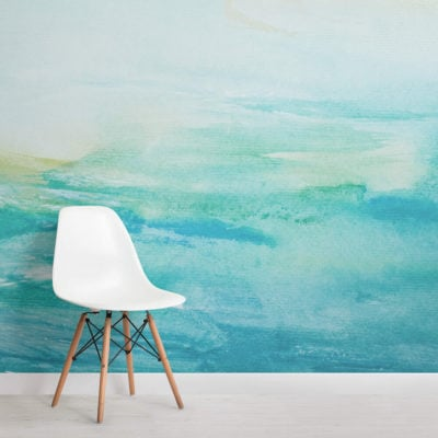 turquoise-watercolour-square-wall-murals