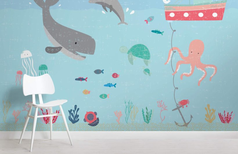 under-the-sea-nursery-room-wall-mural