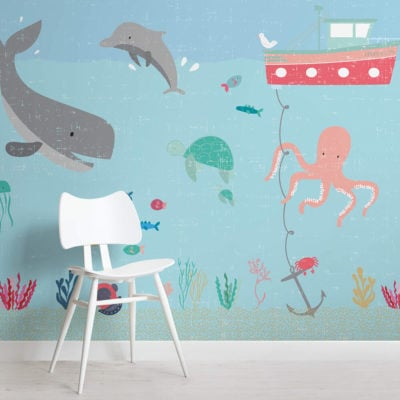under-the-sea-nursery-square-wall-mural
