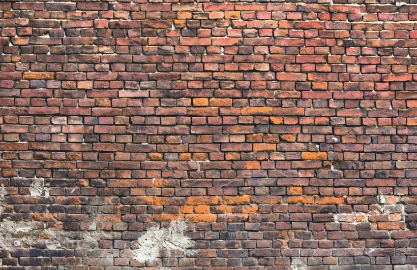 urban-decayed-red-wall-brick-plain-wall-murals