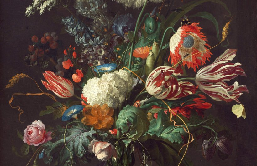 vase-flowers-de-heem-plain-wall-murals