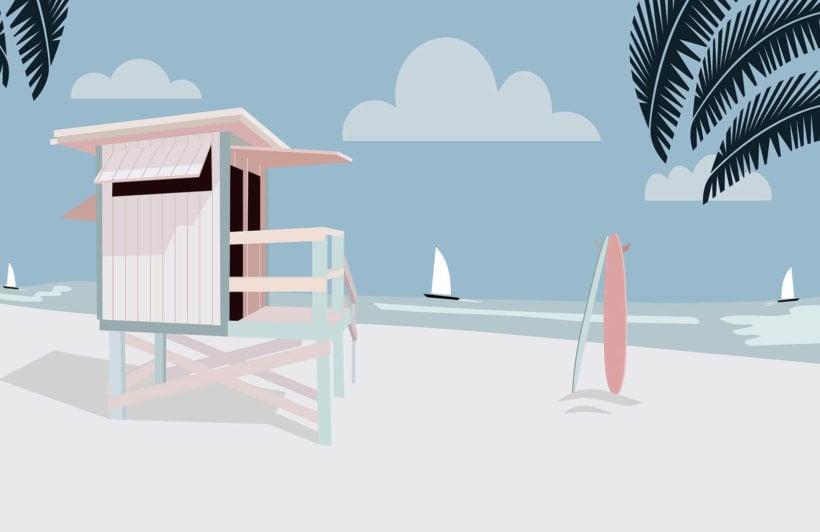 Venice Retro Beach
