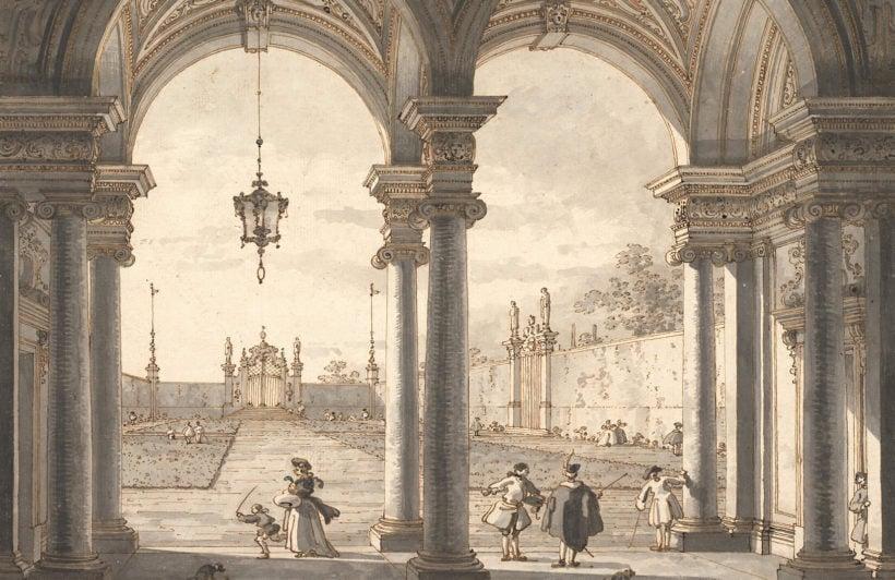 view-through-baroque-colonnade-canaletto-art-plain-wall-murals