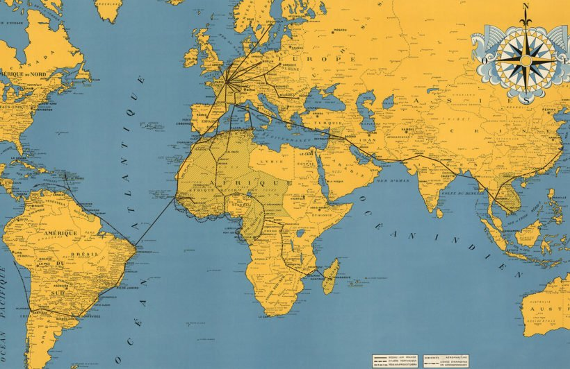 vintage-air-routes-maps-plain-1-wall-murals