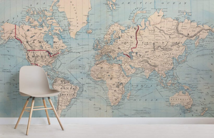 vintage-blue-map-room-wall-murals