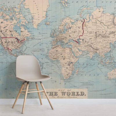 vintage-blue-map-square-wall-murals