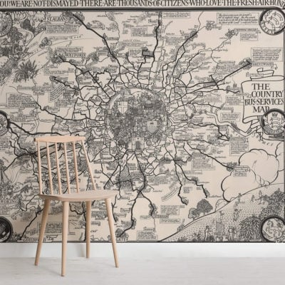 vintage-london-buses-map-square-wall-murals