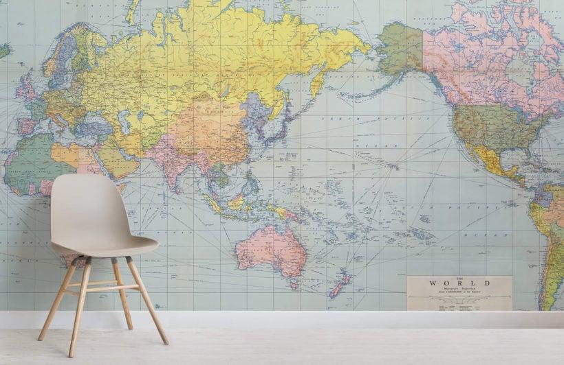 vintage-pastel-map-room-wall-murals