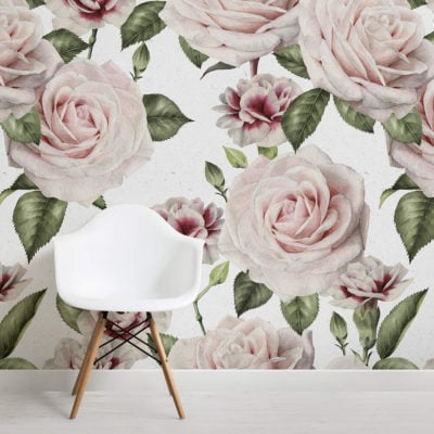 vintage-roses-carnations-flower-square-1-wall-murals