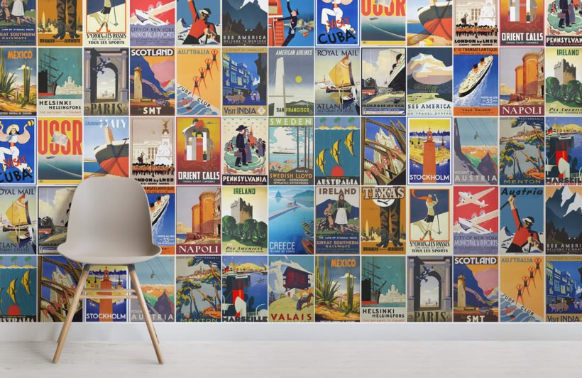 vintage-travel-poster-retro-room-wall-murals
