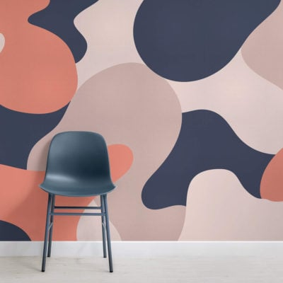 wadsworth-abstract camo-square-wall mural-kj