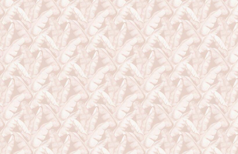 watercolour-pink-tropical-leaves-repeat-pattern-wallpaper