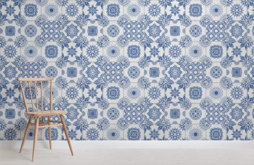 white-and-blue-portuguese-tile-texture-room-wall-murals