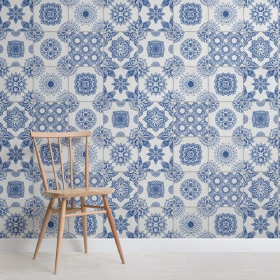 white-and-blue-portuguese-tile-texture-square-wall-murals