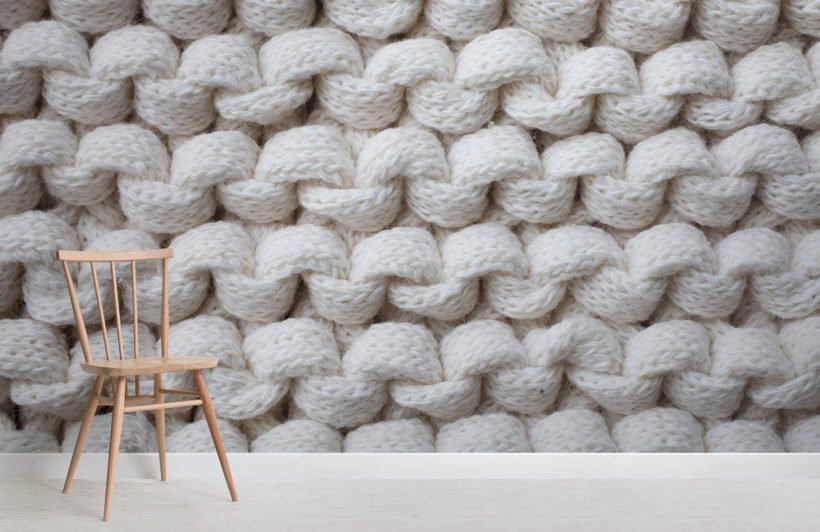 white-chunky-knit-texture-room-wall-murals