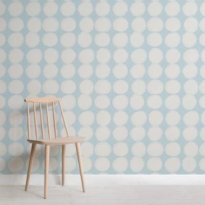 white-painted-dot-pattern-wallpaper-mural