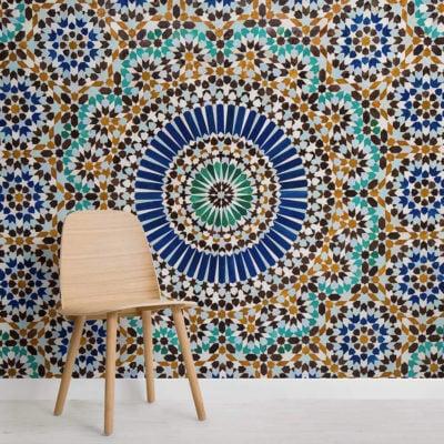 zellige-tile-effect-texture-square-1-wall-murals
