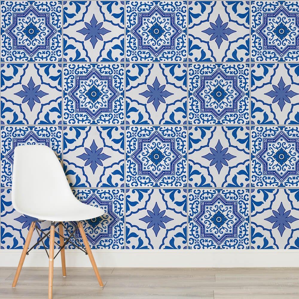 Tile Effect Wallpaper