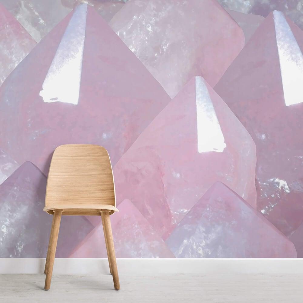 Crystal & Geode Wallpaper